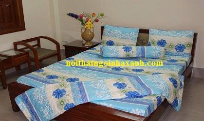 Bộ drap cotton Thắng Lợi ( Bao gồm mền).