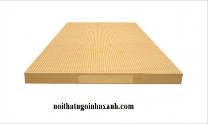 Nệm Cao Su Tự Nhiên Kim Cương happygold 1mx2mx15cm