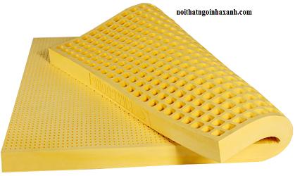Nệm Cao Su Tự Nhiên Kim Cương happygold 1m2x2mx15cm